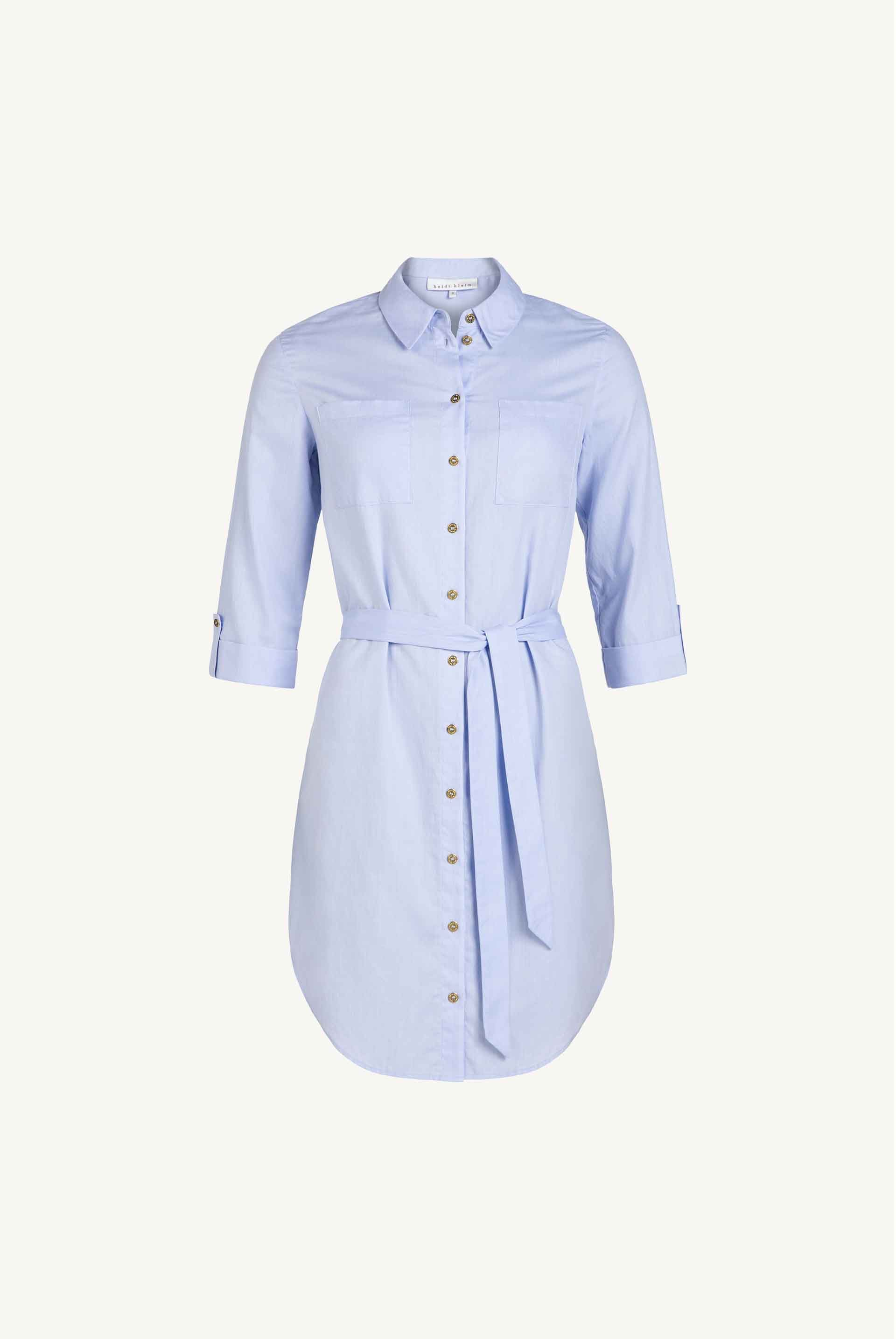 Azores Relaxed Shirt Dress