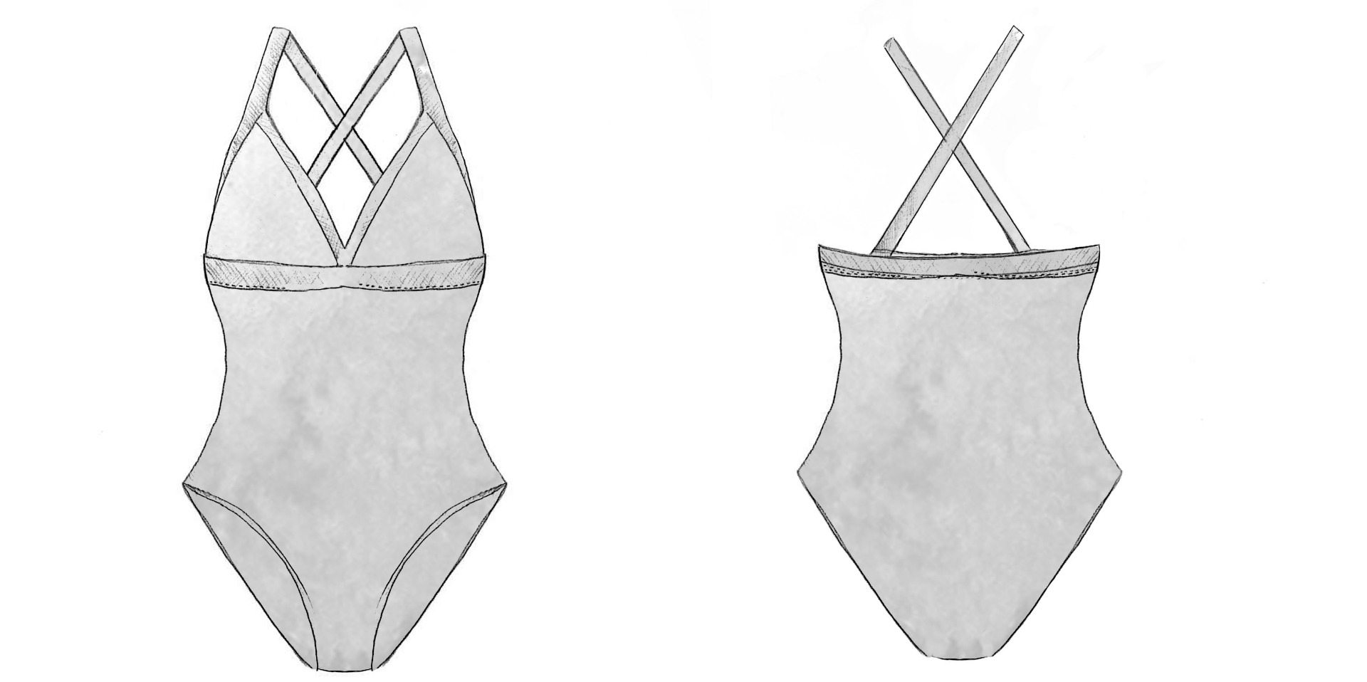 bb Fit Triangle One Piece